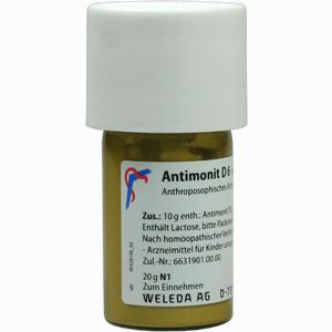 Abbildung von Antimonit D6 Trituration 20 g