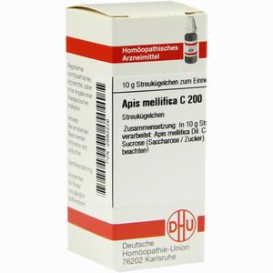 Abbildung von Apis Mellifica C200 Globuli Dhu-arzneimittel 10 g