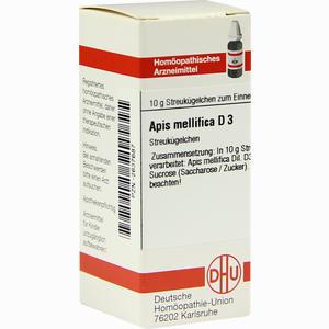 Abbildung von Apis Mellifica D3 Globuli 10 g