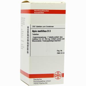 Abbildung von Apis Mellifica D3 Tabletten 200 Stück