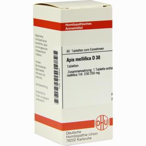 Abbildung von Apis Mellifica D30 Tabletten 80 Stück