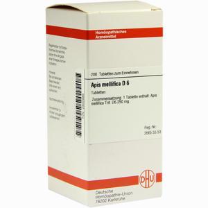 Abbildung von Apis Mellifica D6 Tabletten 200 Stück