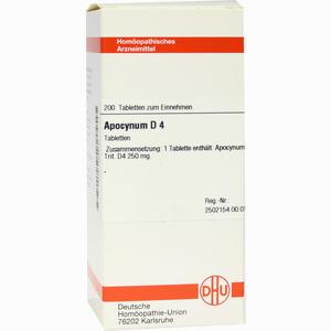 Abbildung von Apocynum D4 Tabletten 200 Stück