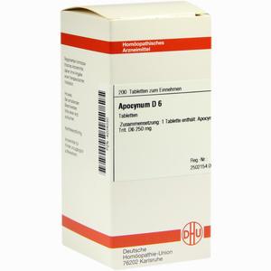Abbildung von Apocynum D6 Tabletten 200 Stück