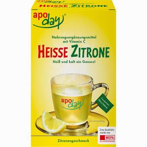 Abbildung von Apoday Heisse Zitrone Vitamin C Pulver  10 x 10 g