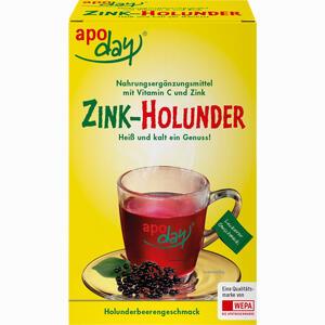 Abbildung von Apoday Holunder Vitamin C + Zink Ohne Zuckerzusatz Pulver  10 x 10 g