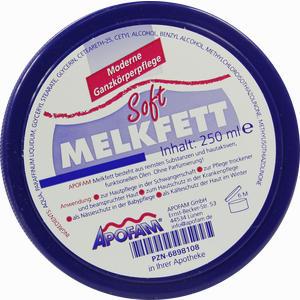 Abbildung von Apofam Melkfett Soft Körperpflege 250 ml