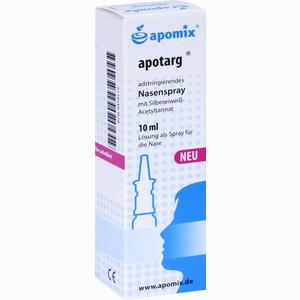 Abbildung von Apomix Apotarg Nasenspray  10 ml