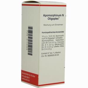 Abbildung von Apomorphinum N Oligoplex Tropfen 50 ml