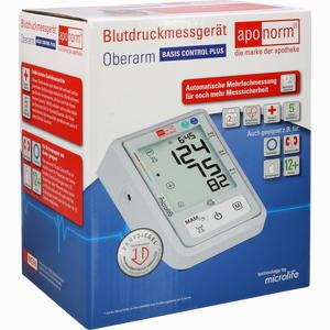 Abbildung von Aponorm Blutdruck- Messgerät Basis Control Plus Oberarm 1 Stück