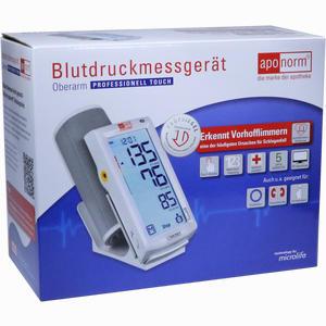 Abbildung von Aponorm Blutdruck Messgerät Prof. Touch Oberarm 1 Stück