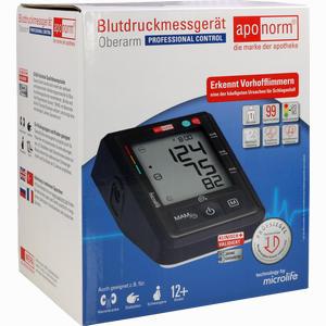 Abbildung von Aponorm Blutdruck Messgerät Professional Control Oberarm 1 Stück