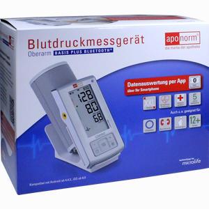 Abbildung von Aponorm Blutdruckmessgerät Basis Plus Bt Oberarm 1 Stück
