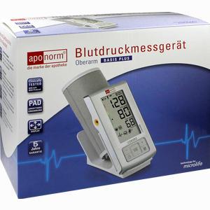Abbildung von Aponorm Blutdruckmessgeraet Basis Plus Oberarm 1 Stück