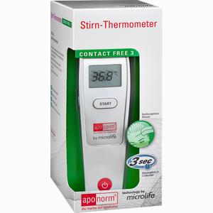 Abbildung von Aponorm Fieberthermometer Stirn Contact- Free 3 1 Stück
