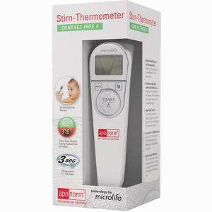 Abbildung von Aponorm Stirn- Thermometer Contact- Free 4 1 Stück