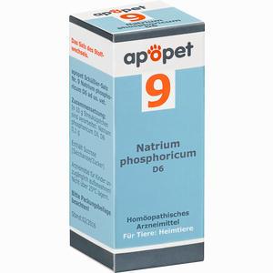 Abbildung von Apopet Schüßler- Salz Nr. 9 Natrium Phosphoricum D6 Vet. Globuli 12 g