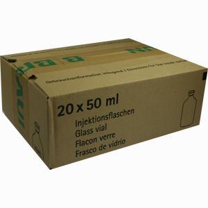 Abbildung von Aqua Pro Injektionsflaschen Infusionslösung 20 x 50 ml