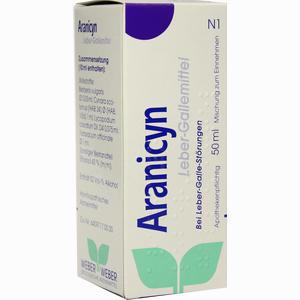 Abbildung von Aranicyn Leber- Gallemittel Tropfen 50 ml