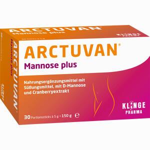 Abbildung von Arctuvan Mannose Plus Pulver 30 x 5 g