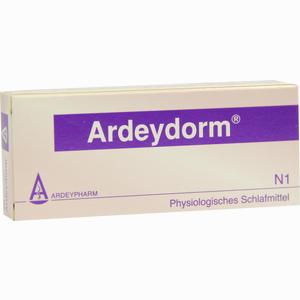 Abbildung von Ardeydorm Tabletten 20 Stück