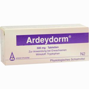 Abbildung von Ardeydorm Tabletten 50 Stück