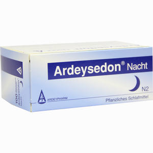 Abbildung von Ardeysedon Nacht Dragees 100 Stück