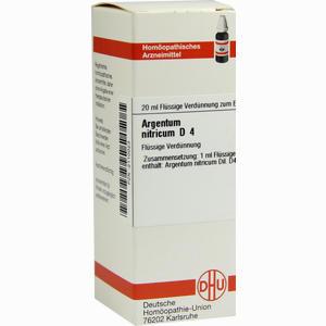 Abbildung von Argentum Nitricium D4 Dilution 20 ml