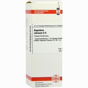 Abbildung von Argentum Nitricium D6 Dilution Dhu-arzneimittel 50 ml