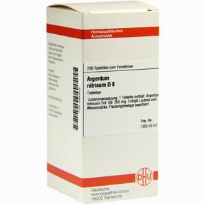 Abbildung von Argentum Nitricium D8 Tabletten 200 Stück