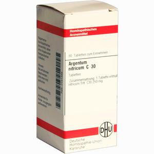 Abbildung von Argentum Nitricum C30 Tabletten 80 Stück