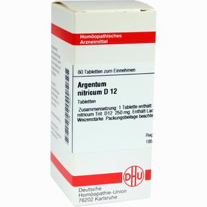 Abbildung von Argentum Nitricum D12 Tabletten  80 Stück