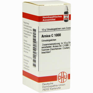 Abbildung von Arnica C1000 Globuli 10 g