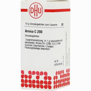 Abbildung von Arnica C200 Globuli 10 g
