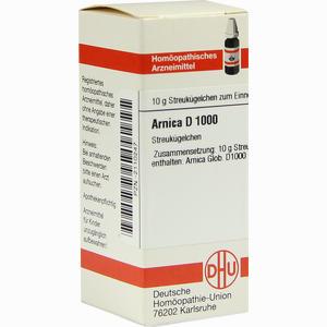 Abbildung von Arnica D1000 Globuli 10 g