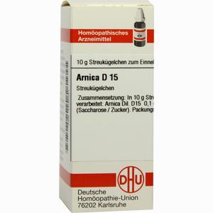 Abbildung von Arnica D15 Globuli 10 g