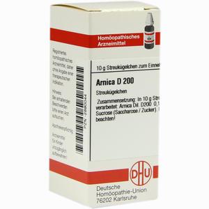 Abbildung von Arnica D200 Globuli 10 g
