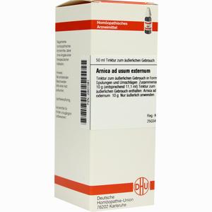 Abbildung von Arnica Extern Tinktur 50 ml