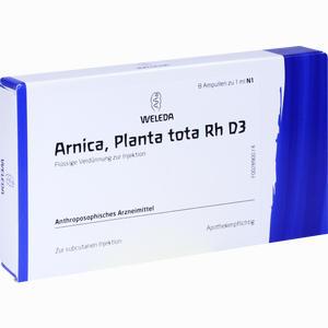 Abbildung von Arnica Planta Tota Rh D3 Ampullen 8 x 1 ml