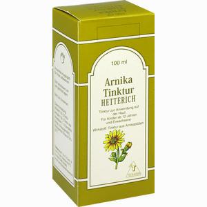 Abbildung von Arnika Tinktur Hetterich  100 ml