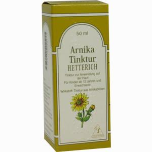 Abbildung von Arnikatinktur Hetterich  50 ml
