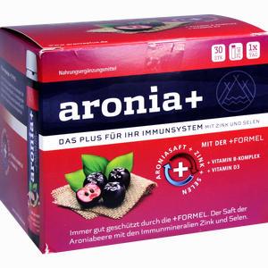 Abbildung von Aronia+ Immun Monatspackung Trinkampullen  30 x 25 ml