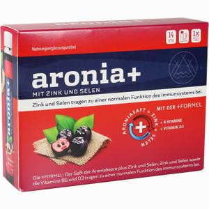 Abbildung von Aronia+ Immun Trinkampullen 14 x 25 ml