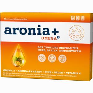Abbildung von Aronia+ Omega 3 Kapseln 30 Stück