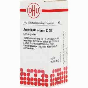Abbildung von Arsenicum Album C200 Globuli 10 g