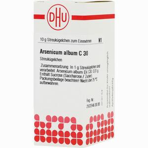 Abbildung von Arsenicum Album C30 Globuli 10 g