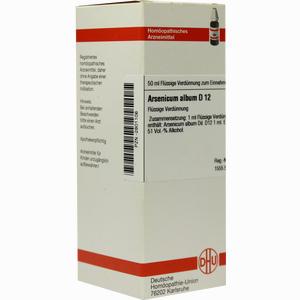 Abbildung von Arsenicum Album D12 Dilution 50 ml