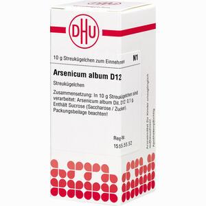 Abbildung von Arsenicum Album D12 Globuli 10 g