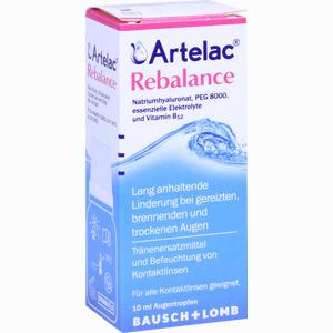 Abbildung von Artelac Rebalance Augentropfen 10 ml