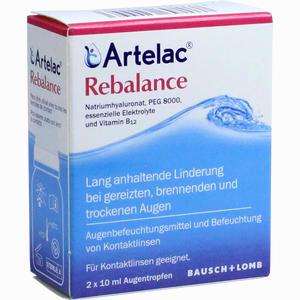 Abbildung von Artelac Rebalance Augentropfen  2 x 10 ml